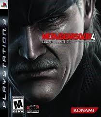SONY Sony PlayStation 3 Game METAL GEAR SOLID 4 GUNS OF THE PATRIOTS