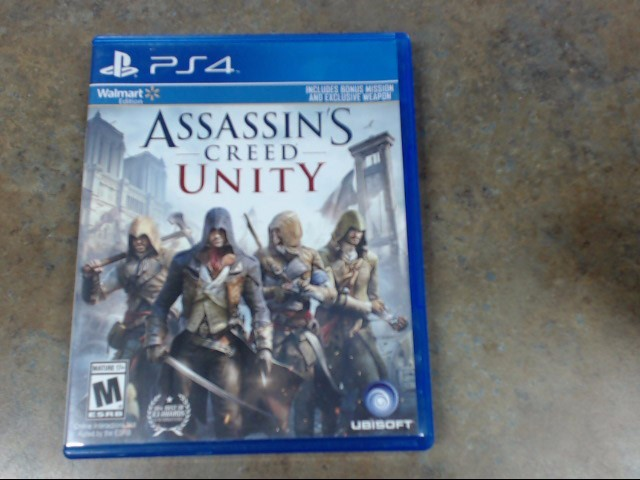 UBISOFT Sony PlayStation 4 Game ASSASSINS CREED UNITY LIMITED EDITION