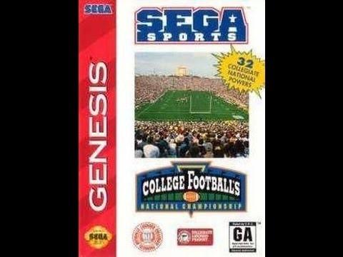 SEAGATE Sega Game SPORTS COLLEGE FOOTBALLS NATIONAL CHAMPIONSHIP