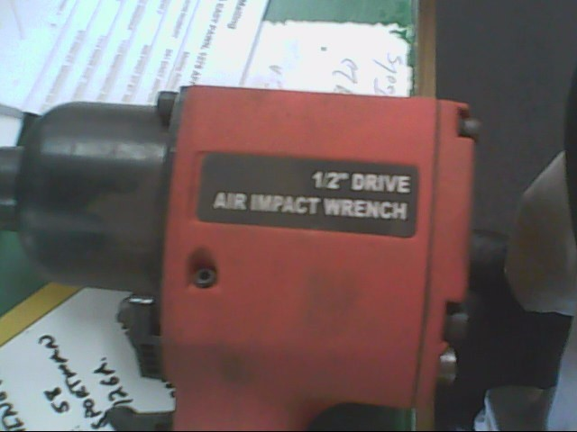 CENTRAL PNEUMATIC Air Impact Wrench 1139