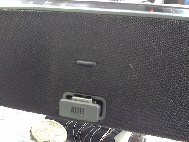 ALTEC LANSING IPOD/MP3 Accessory IMT630