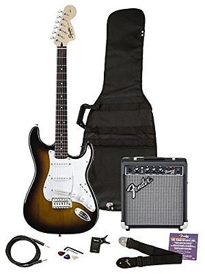 FENDER Electric Guitar AFN FAT STRAT WITH FRONTMAN
