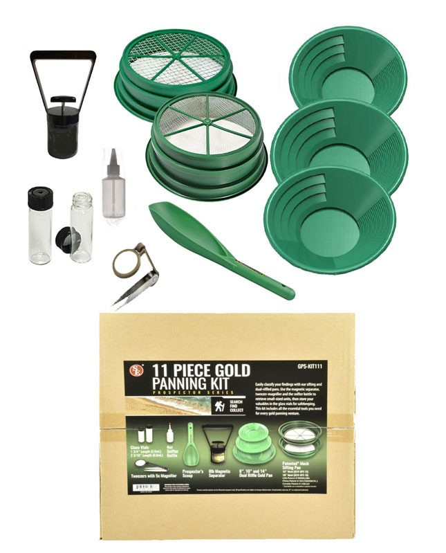 SONA ENTERPRISES 11 Piece Prospecting Kit GP5-KIT111