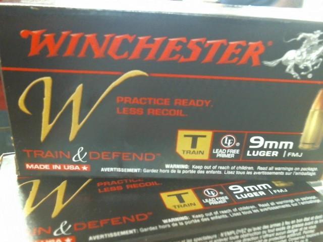 WINCHESTER Ammunition 9MM AMMO TRAIN