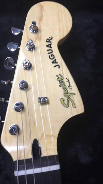 FENDER Electric Guitar SQUIER VINTAGE MODIFIED JAGUAR