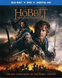 BLU-RAY MOVIE Blu-Ray THE HOBBIT THE BATTLE OF THE FIVE ARMIES -EXTENDED