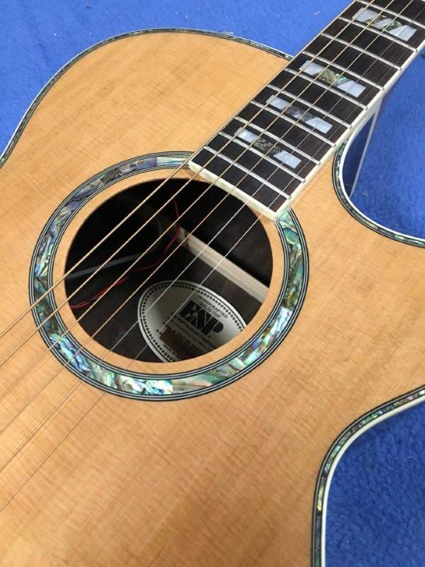 LTD GUITAR Acoustic Guitar AC15E SNATCHED