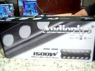 AUDIO PIPE Car Amplifier APCL-3002