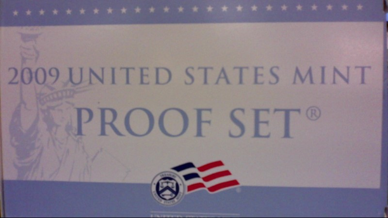 UNITED STATES Proof Set FIRST UNITED STATES MINT COIN 2009