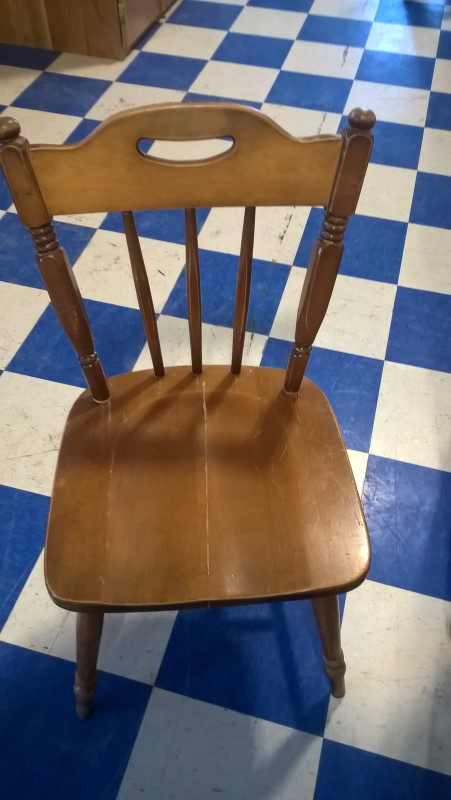 Chair Wooden Kitchen Chair For Parts Or Not Working Buya