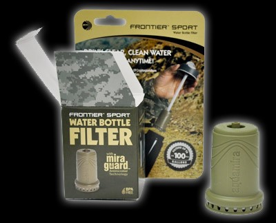 ROTHCO Outdoor Sports AQUAMIRA TACTICAL WATER BOTTLE FILTER