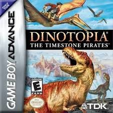 NINTENDO Nintendo GBA Game DINOTOPIA THE TIMESTONE PIRATES GBA