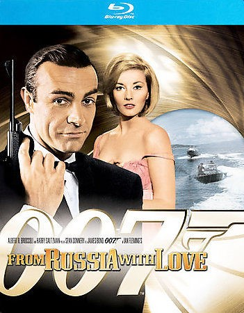 BLU-RAY MOVIE Blu-Ray 007 FROM RUSSIA WITH LOVE