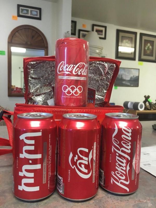 COCA COLA Sports Memorabilia 2008 OLYMPIC COOLER