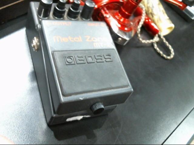 BOSS Effect Equipment METAL ZONE MT-2