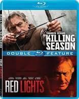 BLU-RAY MOVIE Blu-Ray KILLING SEASON - RED LIGHTS - DOUBLE FEATURE