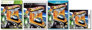 MICROSOFT XBOX 360 Game HOT WHEELS WORLDS BEST DRIVER