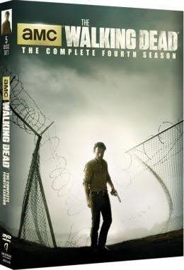 DVD BOX SET DVD THE WALKING DEAD THE COMPLETE FOURTH SEASON