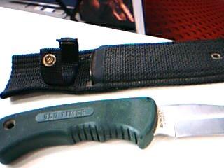 OLD TIMER Hunting Knife SCHRADE 420T