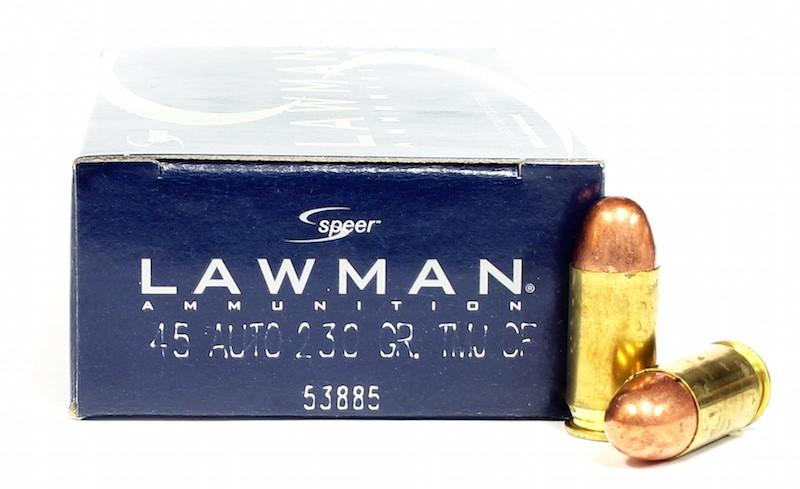Speer Lawman - 45 Auto - 230 GR. TMJ