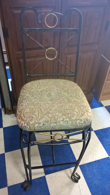 Chair BAR HEIGHT CHAIR W/ CLOTH