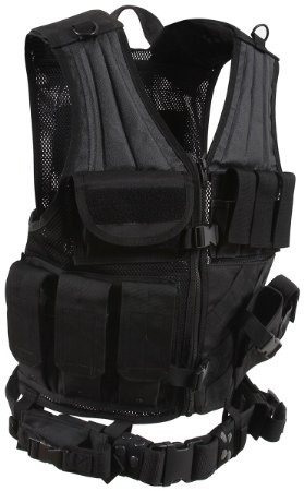 ROTHCO Vest/Armor CROSS DRAW MOLLE TACTICAL VEST