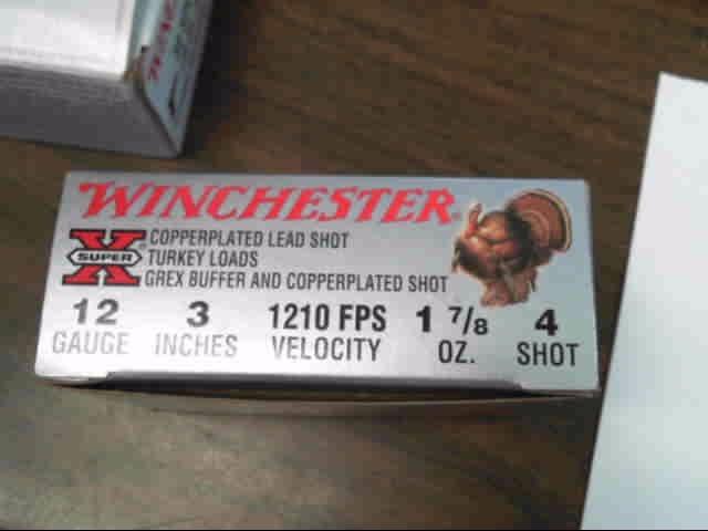 """WINCHESTER Ammunition 12 GAUGE 3"""" 1-7/8 OZ #4 SHOT 1210FPS"""