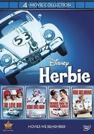 DVD MOVIE DVD DISNEY HERBIE 4-MOVIE COLLECTION
