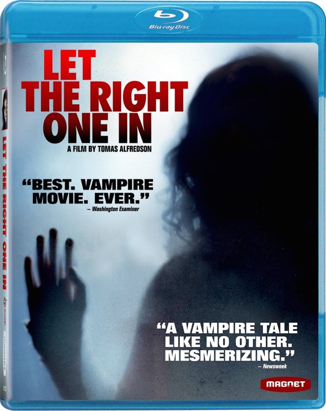 BLU-RAY MOVIE Blu-Ray LET THE RIGHT ONE IN