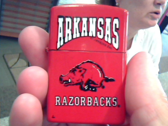 ARKANSAS RAZORBACKS Lighter LIGHTER