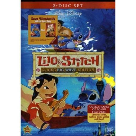 DVD MOVIE DVD LILO & STITCH (2002)