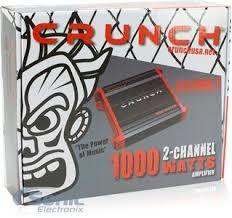 CRUNCH Car Amplifier PZX1000.2