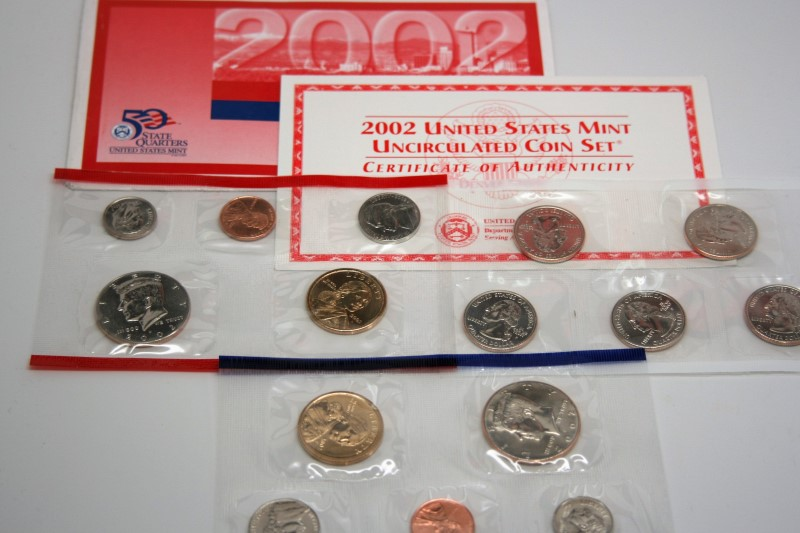UNITED STATES 2002 UNCIRCULATED COIN SET DENVER