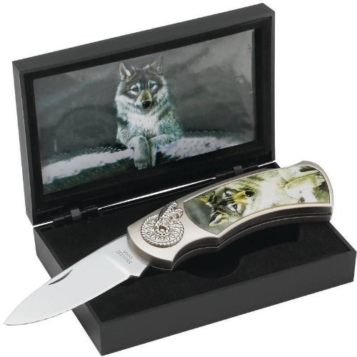MAXAM OUTDOORS Pocket Knife SKYWOLF POCKET KNIFE