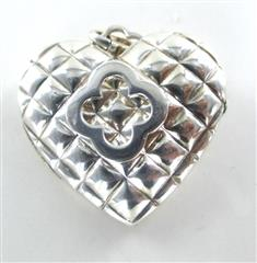 HEIDI KLUM LOCKET HEART STERLING SILVER 925 THAILAND PENDANT LOVE