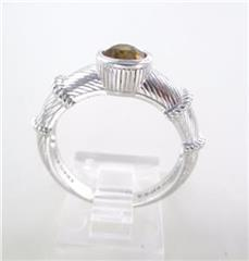 JUDITH RIPKA STERLING SILVER RING THAILAND SIZE 10
