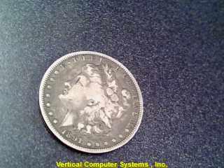 1891_MORGAN COIN-SILVER U.S. (GOV'T)  .90 % 16.9/SILVER