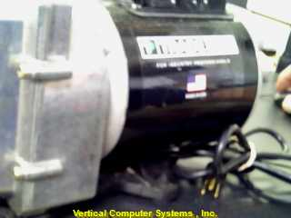 TRADE TP-V5-USA_5-CFM    VACUUM PUMP BLK/_SIL