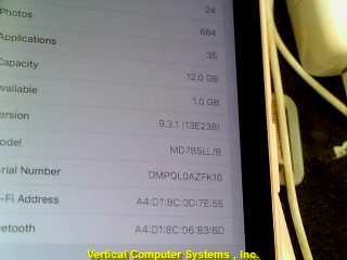 APPLE__IPAD Tablet MD785LL/B