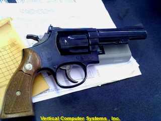 S & W Revolver 18-4