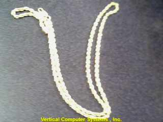 "20"" 14KT Gold Rope Chain ROPE CHAIN 14K Yellow Gold 9dwt"