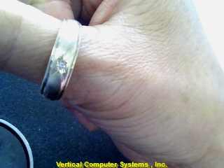 DIAMOND  WEDDING BAND M'S 14KT DIAMOND PW 3353 3.3/YG