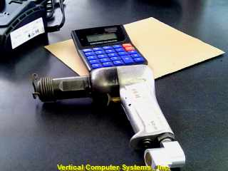CHICAGO BCX_461734 AIR NAIL GUN   SCRATCHED COILED. CHROME