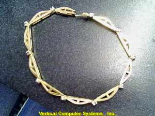 Gold-Diamond Bracelet MULTI-CHANNEL_SET 60 Diamonds 1.80 Carat T.W.