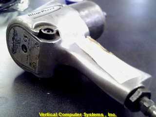 AT123 AIR IMPACT GUN BLUE POINT  ID# 517 CHROME