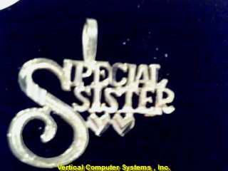 SPECIAL_SISTER CHARM 10KT  SPECIAL SISTER, PW 3983 .4