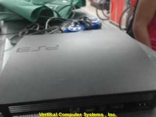 SONY CECH-3001B PLAYSTATION 3 SYSTEM   W/BLU REMOTE AND HDMI&AV BLK