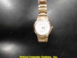 PHILIP_STEIN CHRONONF WATCH   5' WATCH IS FADED COPPER