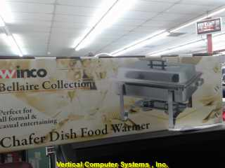 WINCO C-1080    24' IN THE BOX CHAFER W/ POLISHED COVER STNLS