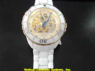 ANDROID TY2807 GOLD/SILVER WATCH PLATED   111KWMS WATCH 2